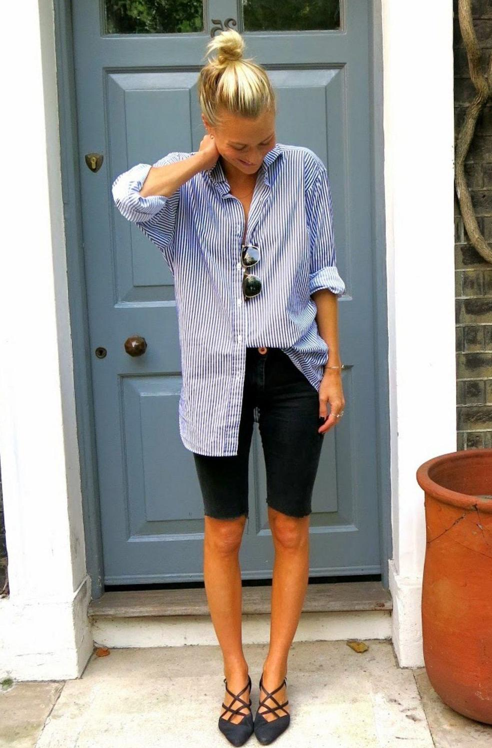 Long Shorts: Easy To Wear Outfit Ideas 2022