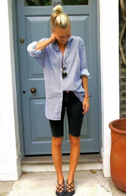 Bermuda Shorts Trend For Ladies: Easy Looks And Tips 2022