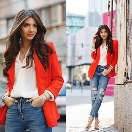Boyfriend Jeans Outfit Ideas For Women 2022