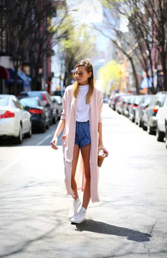 How to Style High Top Sneakers with Shorts 2022